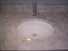 White Carrara Vanity