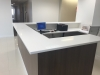 White Quartz Tops Reception Area