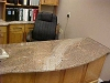 Crema Bordeaux Granite Desk